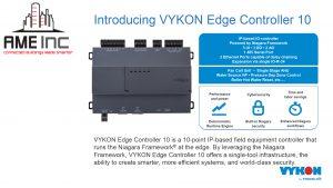 VYKON Edge Controller 10 is Available
