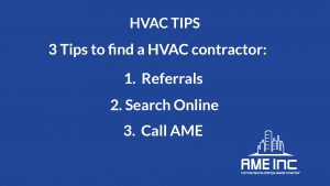 Do you need an HVAC Contractor?